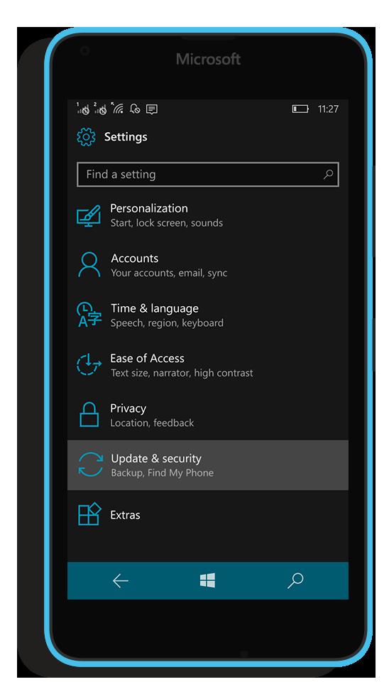 Quick Shutdown for Windows 10 Mobile